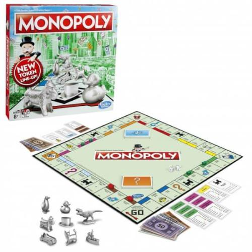 Monopoly Fan Voted Token Game