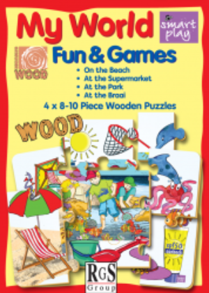 SMART PLAY- MY WORLD 8-10PCS (OUTDOOR) PUZZLE