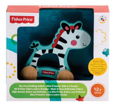 Fisher Price My First Rolling Zebra