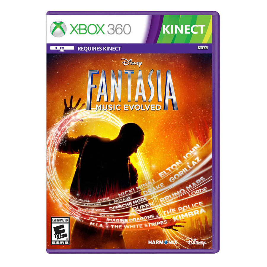 Xbox 360 Disney Fantasia Music Evolved