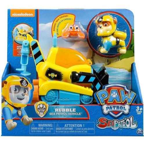Paw Patrol Sea Patrol Vehicles Asst