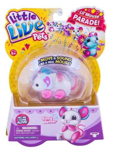 Assorted Little Live Pets Lil Mouse Parade