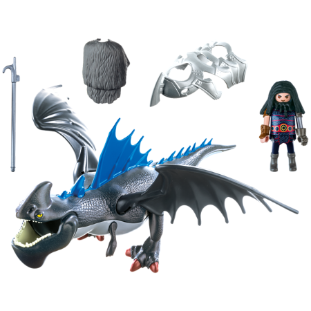Playmobil Dreamworks Dragons Drago and Thunderclaw 9248