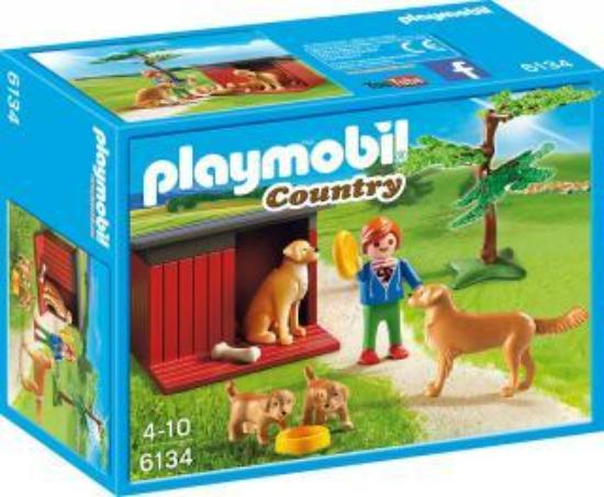 Playmobil Country Golden Retriever with Toy 6134