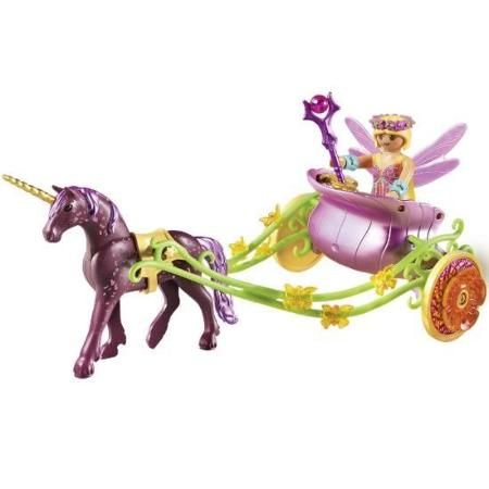 Playmobil Fairies Unicorn-Drawn Fairy Carriage 9136