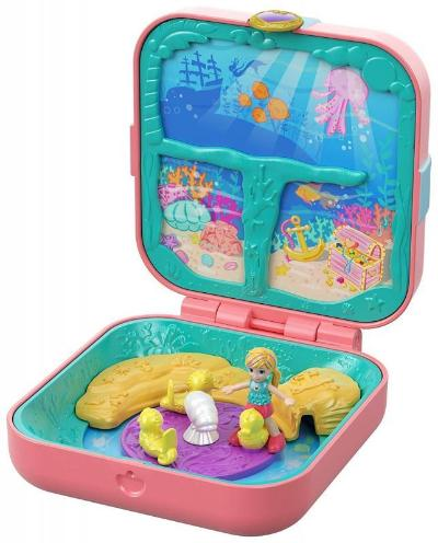 Polly Pocket Hidden Hideouts Compact Asst