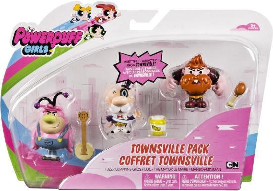 The Powerpuffs Townsville Mini Figurine 3 Pack (RES)