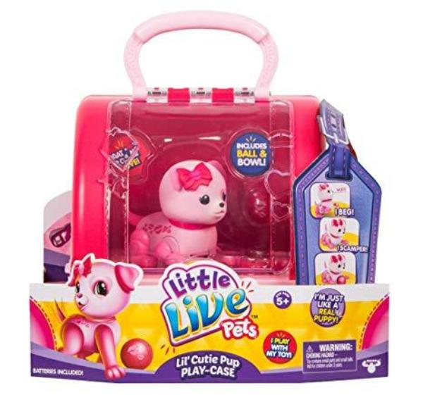 Little Live Pets-Lil Cutie Pup Play- Case