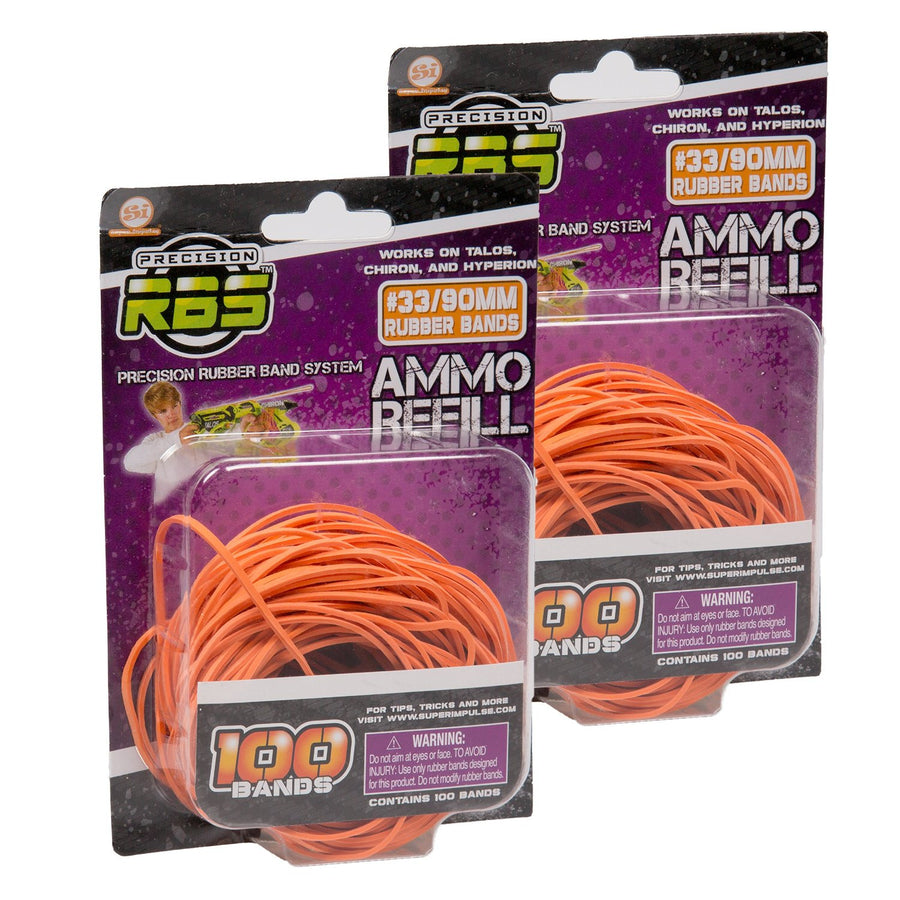 Precision RBS Rubber Band Launcher Ammo Refills #33/90mm