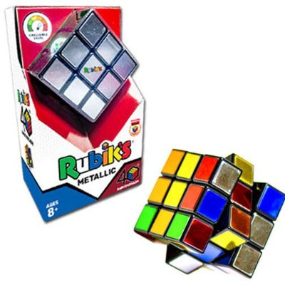 Rubik's Metallic Cube 40th Anniversary Edition
