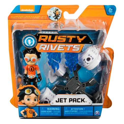Rusty Rivets Rusty Mini Character Build Pack Asst