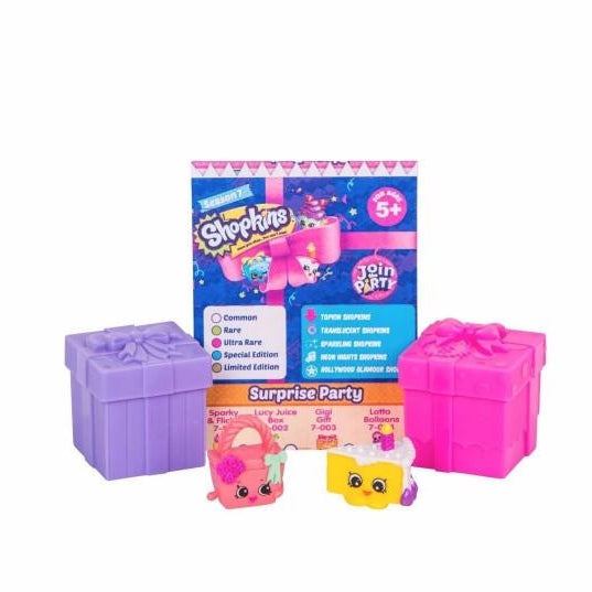 Shopkins Season 7- 2 Pack Mystery Gift Boxes