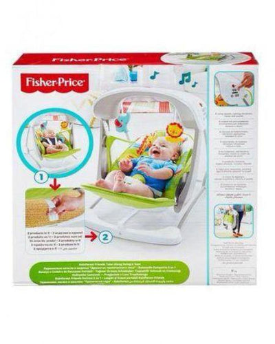 Fisher Price-Rainforest Friends Take-Along Swing & Seat