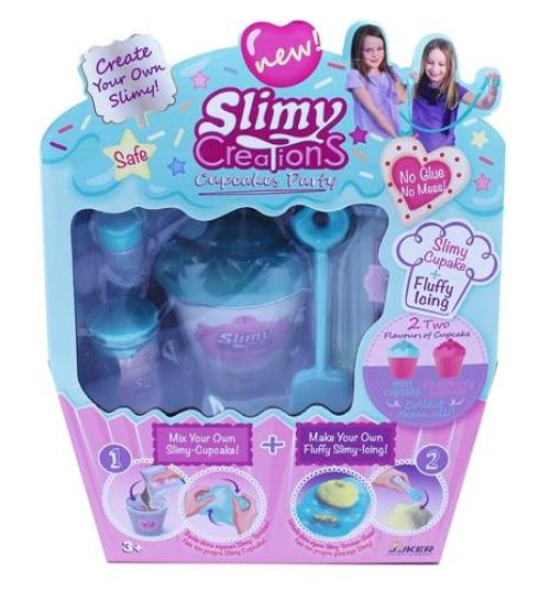 Slimy Creations Cupcakes Party