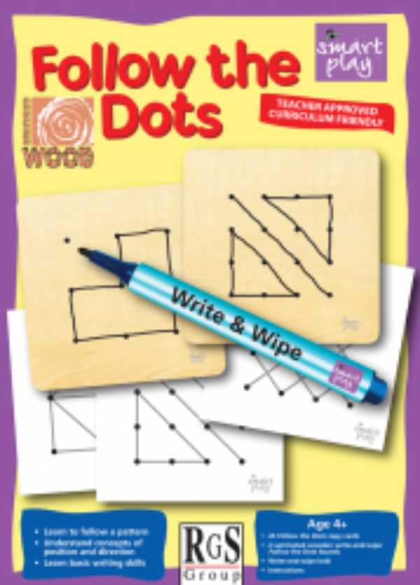 FOLLOW THE DOTS PUZZLE