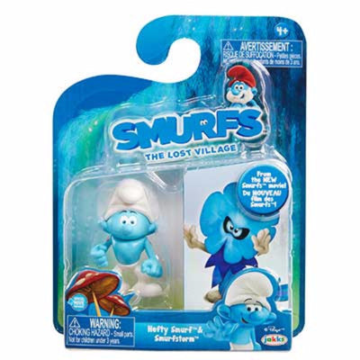Smurfs The Lost Village- 6cm Figurines 2 Pack