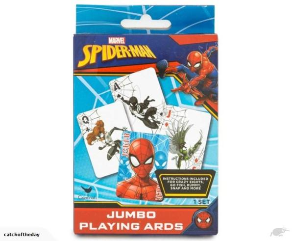 Marvel Spiderman Jumbo Cards