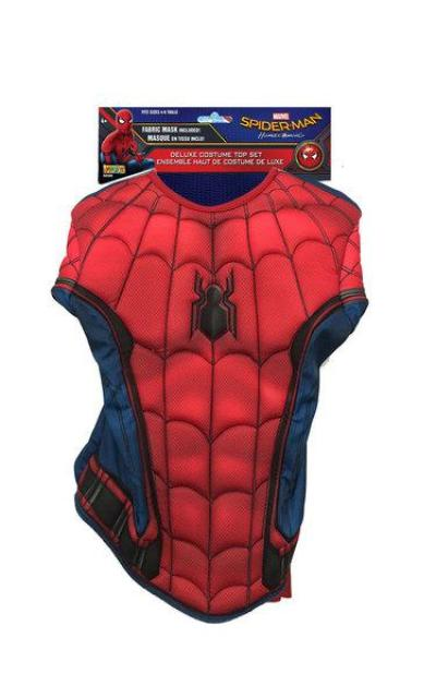 Spider-Man Homecoming Deluxe Costume Top Set
