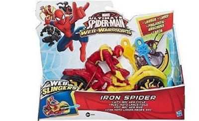 Marvel Ultimate Spider-Man Web Slingers Racers Asst