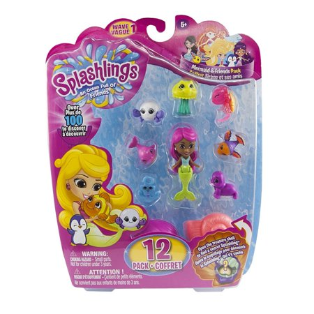 Splashlings 12 Pack Asst