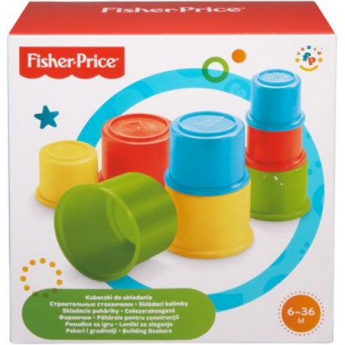 FISHER PRICE-Building Beakers