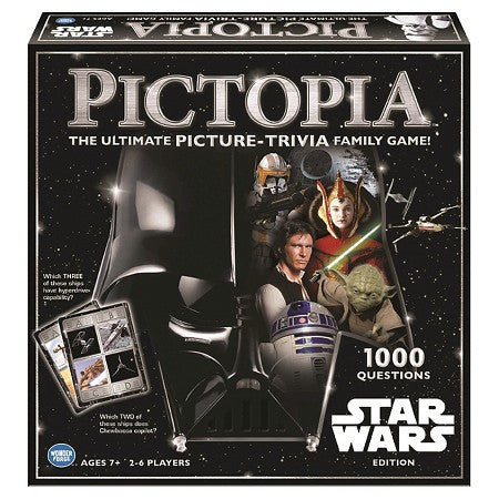 Pictopia Star Wars Picture Trivia Game