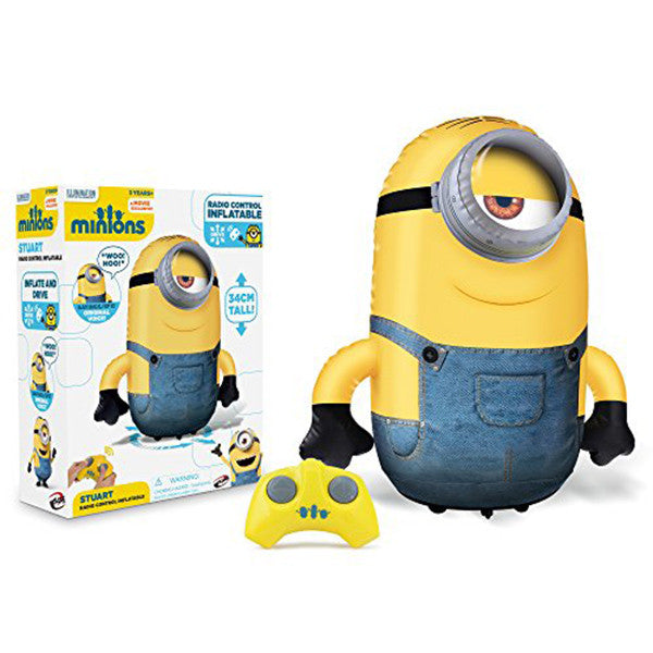 Inflatable radio controlled minion fuck 8