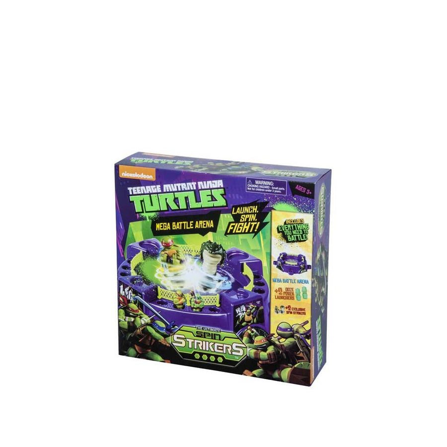 TMNT Spin Strikers Mega Battle Arena