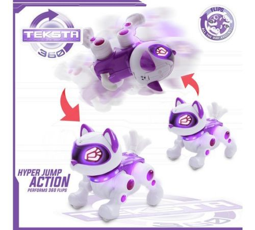 Teksta Robotic  360 Kitty