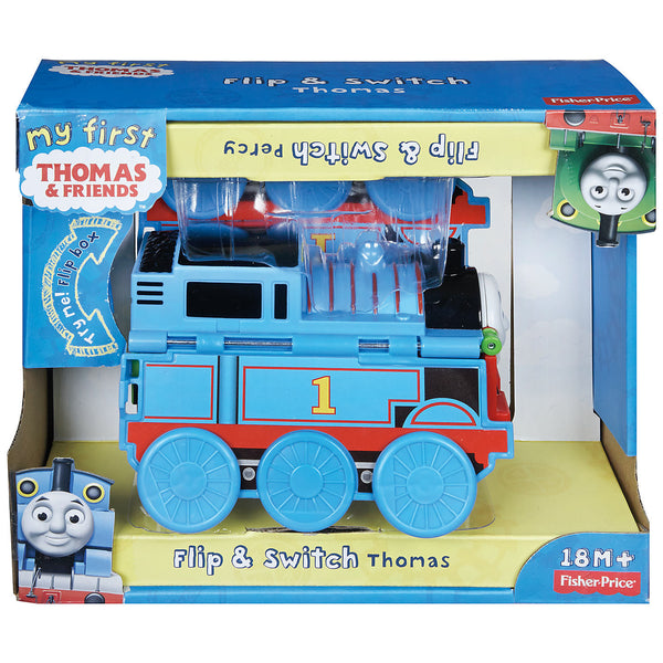 a1c97e1e4ea2 Fisher-Price Thomas & Friends Flip & Switch Thomas & Percy Toy