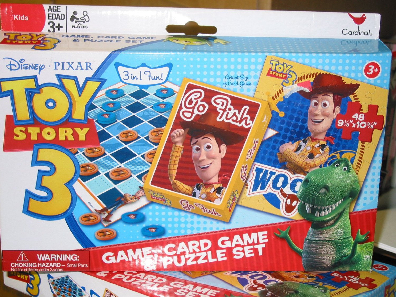 Woody Toy Story 3 Games : Toy story game card and puzzle set woody thekidzone