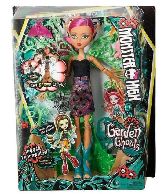 Monster High Garden Ghouls Treesa Thornwillow