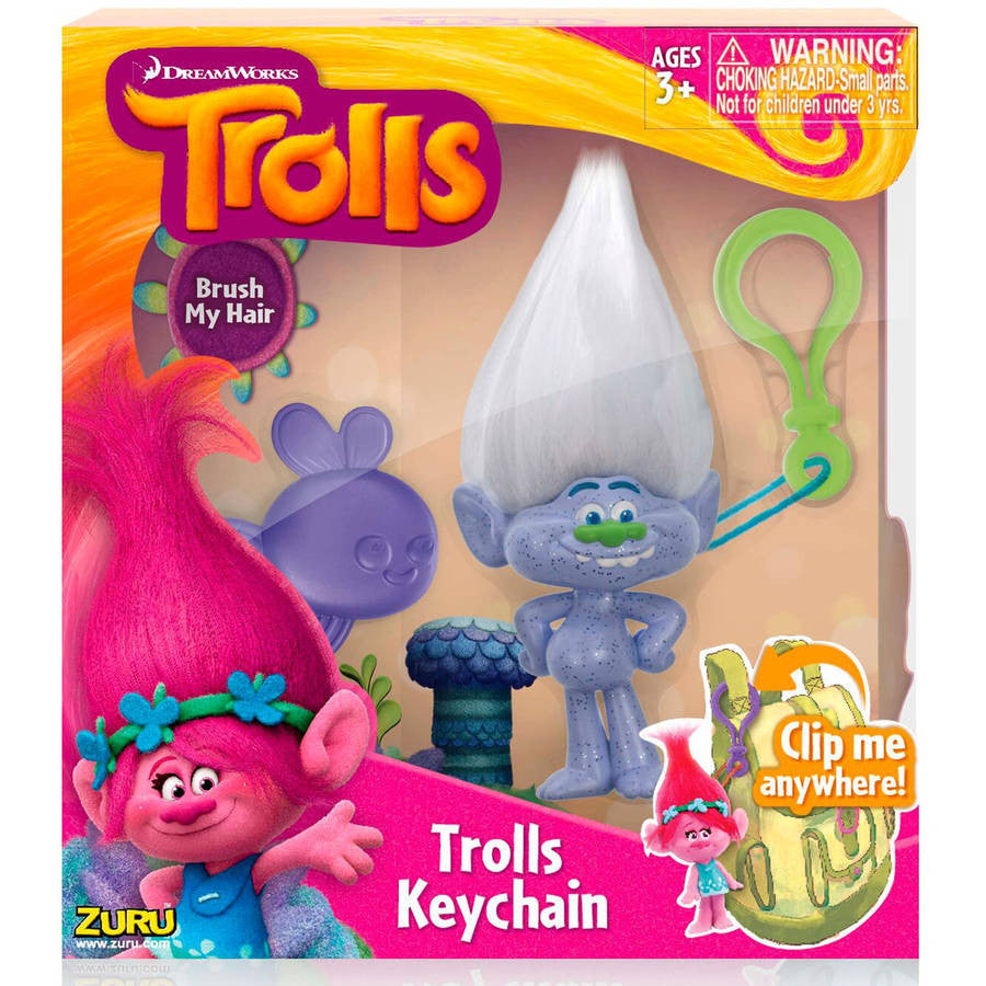 Trolls Medium Keychain