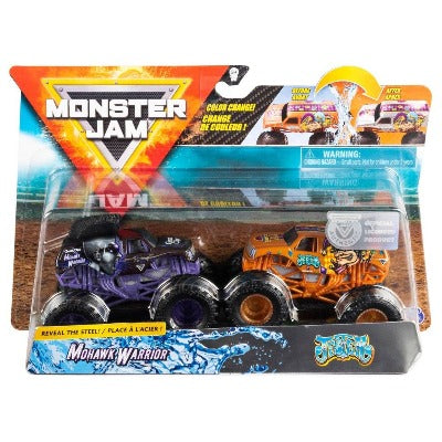 Monster Truck, 1:64 Scale, 2 Pack