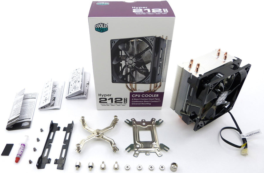 Cooler Master Hyper 212 EVO CPU Cooling Fan