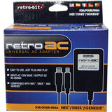 Retro-Bit AC Power Adapter for NES / SNES / GENESIS 1