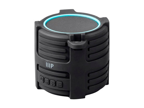 Monoprice Deep Blue Sub75 Submersible Waterproof Bluetooth Speaker IPX7