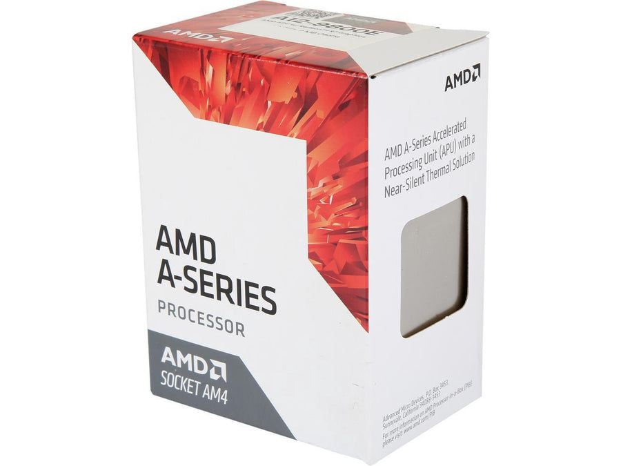 AMD A12-9800E 4 Cores 3.1GHz Base/3.8Ghz Boost AM4 CPU
