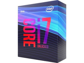 Intel i7-9700K 8 Cores 3.6GHz Base/4.9GHz Turbo LGA1151 CPU