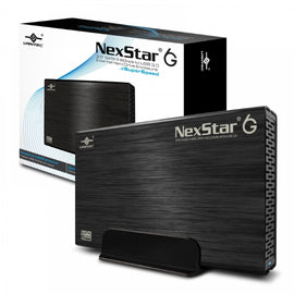 "Vantec NexStar 3.5"" SATA 3.0 6Gbps to USB 3.0 External Hard Drive Enclosure"