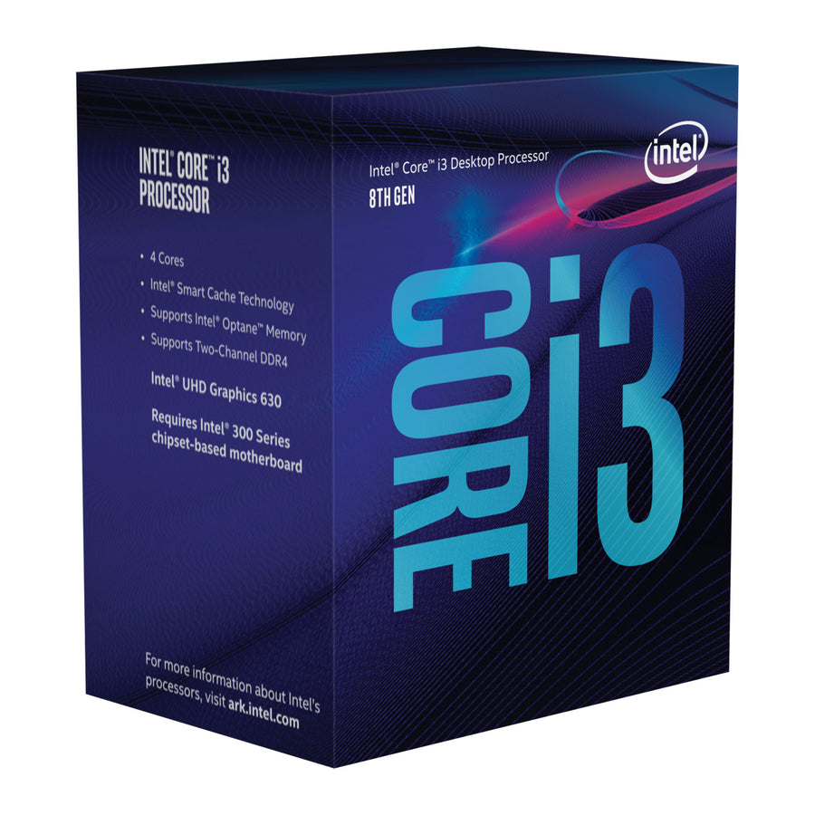 Intel i3-8300 4 Cores 3.7GHz LGA1151 CPU
