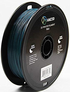 AMZ3D Dark Green PLA 1.75MM 1KG Roll