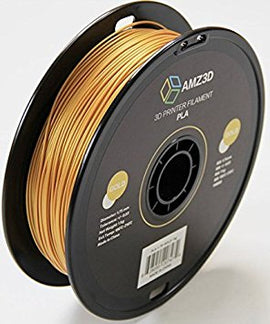 AMZ3D Gold PLA 1.75MM 1KG Roll