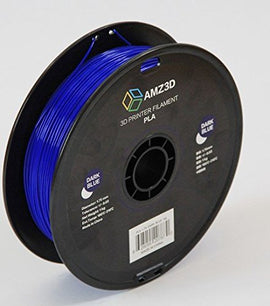 AMZ3D Dark Blue PLA 1.75MM 1KG Roll