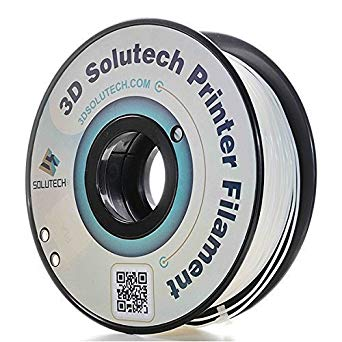 3D Solutech Real White PLA 1.75MM 1KG Roll