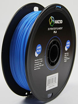 AMZ3D Lake Blue PLA 1.75MM 1KG Roll