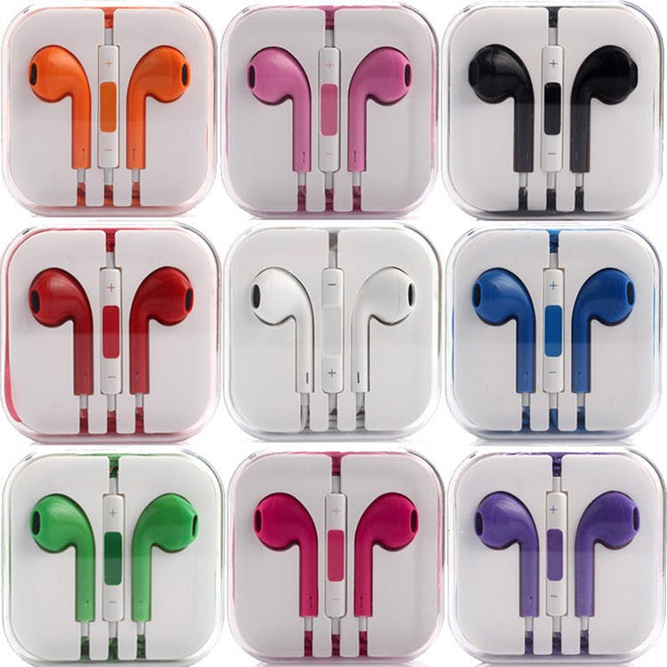 Wired Earpods (Various Colours)
