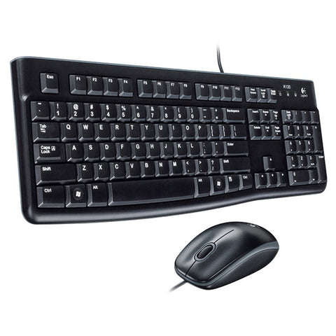 Logitech MK120 Wired Mouse & Keyboard USB Combo