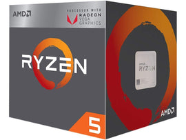 AMD Ryzen 5 2400G 4 Cores/8 Threads 3.6GHz Base/3.9Ghz Boost AM4 CPU