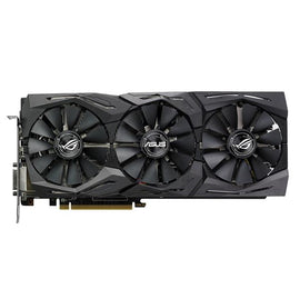 ASUS ROG Strix Radeon RX 580 8GB Gaming OC (STRIX-RX580-O8G-GAMING) 1360 MHz Base/ 1380MHz Boost, 8000 MHz Memory PCI-E 3.0, 1x DVI-D, 2x HDMI, 2x DP, AURA RGB Lighting